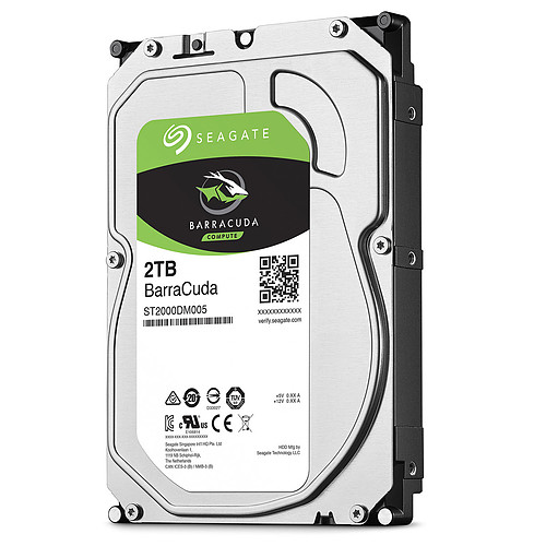 Seagate BarraCuda 2 To (ST2000DM005) pas cher