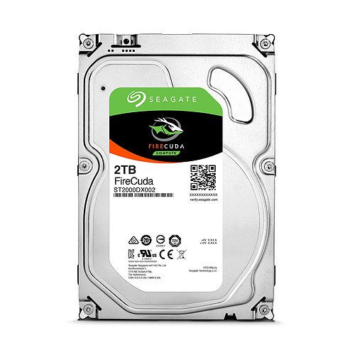 Seagate FireCuda SSHD 2 To pas cher