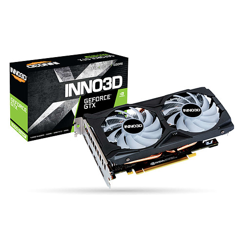 INNO3D GeForce GTX 1660 SUPER TWIN X2 OC RGB pas cher
