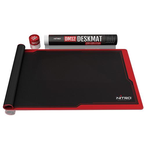 Nitro Concepts Deskmat DM12 (Noir/Rouge) pas cher