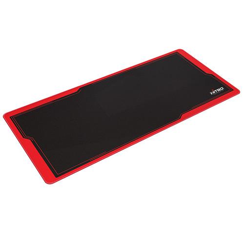 Nitro Concepts Deskmat DM9 (Noir/Rouge) pas cher