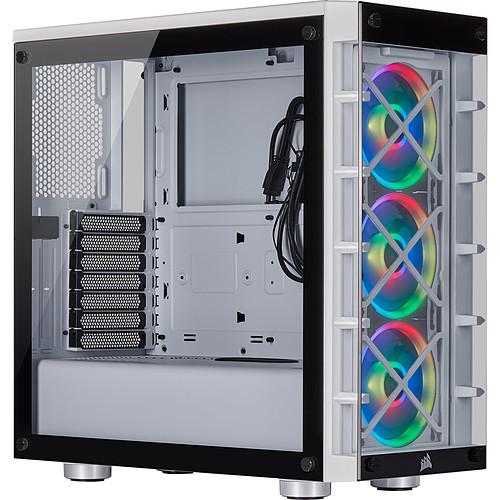 Corsair iCUE 465X RGB (Blanc) pas cher