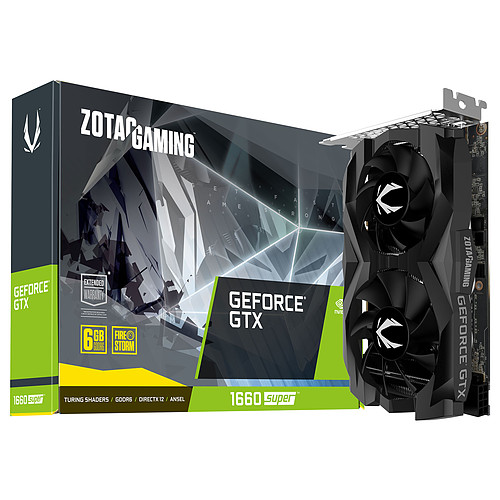 ZOTAC GeForce GTX 1660 SUPER Twin Fan pas cher