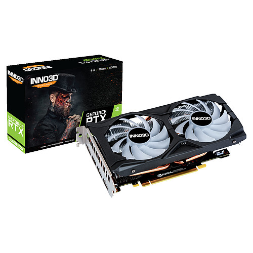INNO3D GeForce RTX 2060 SUPER TWIN X2 OC RGB pas cher