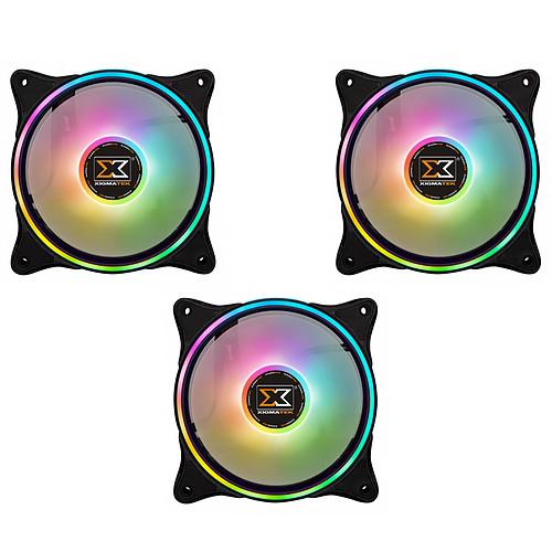 Xigmatek AT120 Galaxy 2 Pro Pack de 3 pas cher