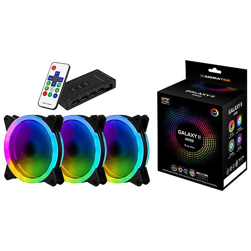 Xigmatek AY120 Galaxy 2 Elite Pack de 3 pas cher