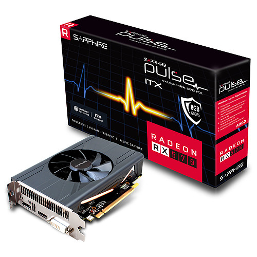 Sapphire PULSE Radeon RX 570 ITX 8G G5 pas cher