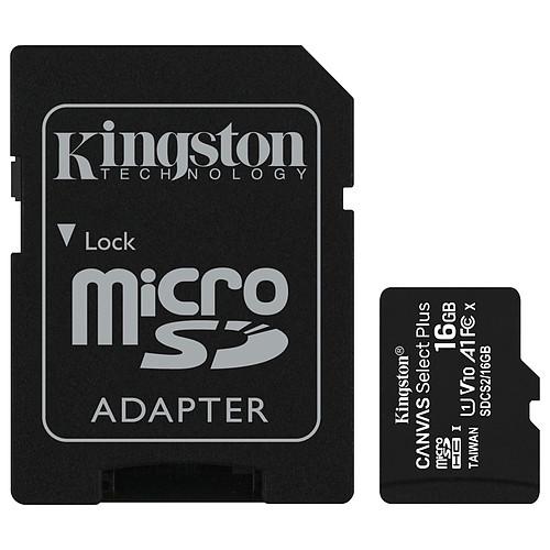 Kingston Canvas Select Plus SDCS2/16GB pas cher