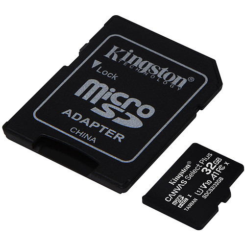 Kingston Canvas Select Plus SDCS2/32GB pas cher
