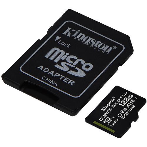 Kingston Canvas Select Plus SDCS2/128GB pas cher