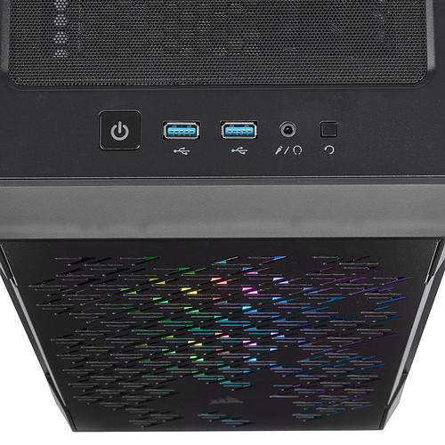Corsair iCUE 220T RGB Airflow (Noir) pas cher