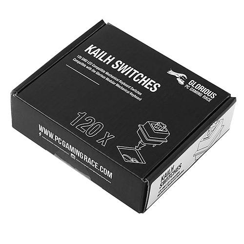 Glorious Kailh Switches x120 (Blanc) pas cher