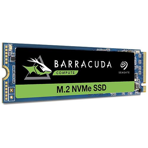 Seagate SSD BarraCuda 510 M.2 PCIe NVMe 500 Go (ZP500CM3A001) pas cher