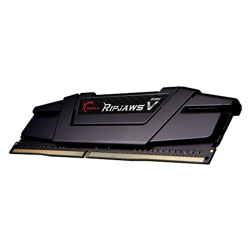G.Skill RipJaws 5 Series Noir 32 Go (2 x 16 Go) DDR4 4266 MHz CL17 pas cher