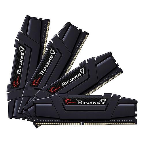 G.Skill RipJaws 5 Series Noir 32 Go (4 x 8 Go) DDR4 4000 MHz CL17 pas cher
