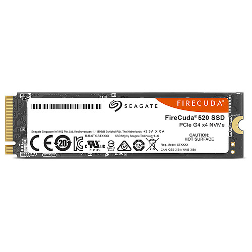 Seagate SSD FireCuda 520 1 To pas cher