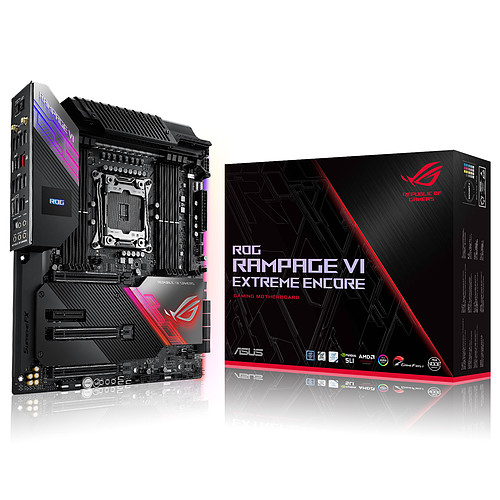 ASUS ROG Rampage VI Extreme Encore pas cher