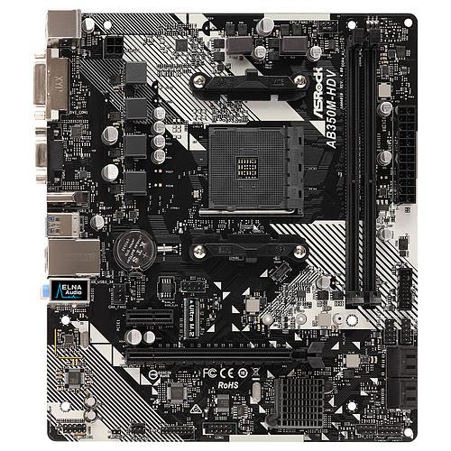 ASRock AB350M-HDV R4.0 pas cher