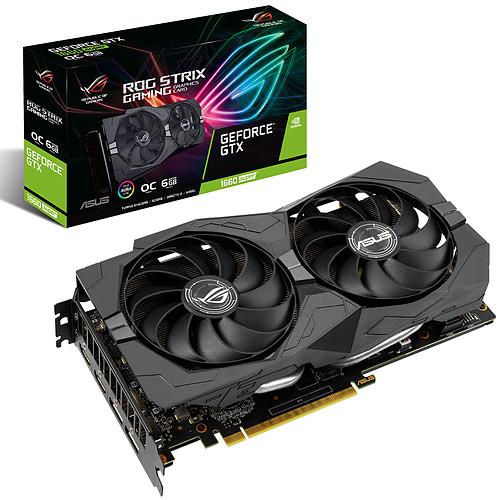 ASUS GeForce GTX 1660 SUPER ROG-STRIX-GTX1660S-O6G-GAMING pas cher