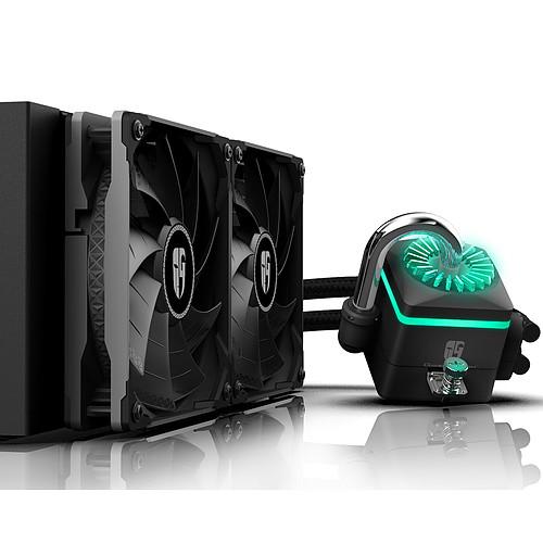 Deepcool Gamer Storm Captain 240X (Noir) pas cher