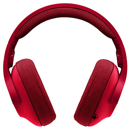 Logitech G433 7.1 Surround Sound Wired Gaming Headset Rouge pas cher