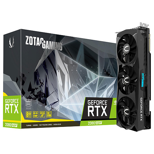 ZOTAC GeForce RTX 2080 SUPER Triple Fan pas cher