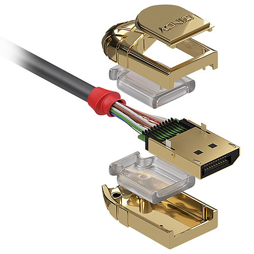 Lindy Gold Line DisplayPort 1.2 (10 m) pas cher