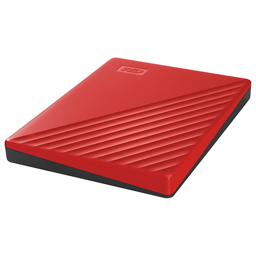 WD My Passport 2 To Rouge (USB 3.0) pas cher