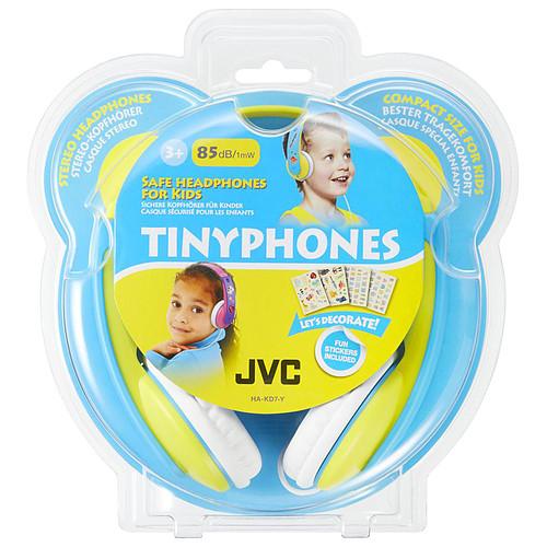 JVC HA-KD7 Bleu/Jaune pas cher