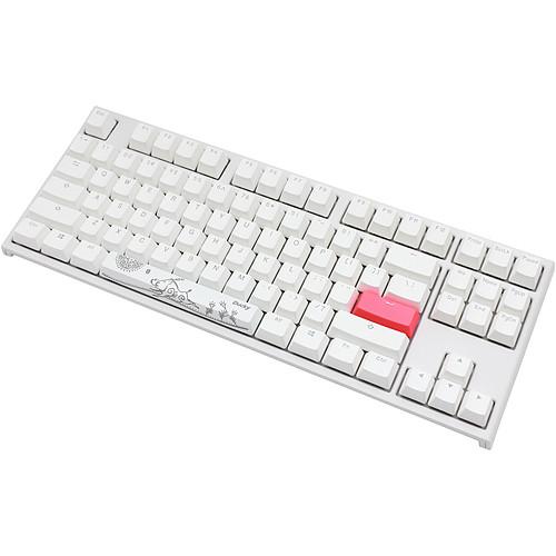Ducky Channel One 2 TKL RGB Blanc (Cherry MX RGB Red) pas cher