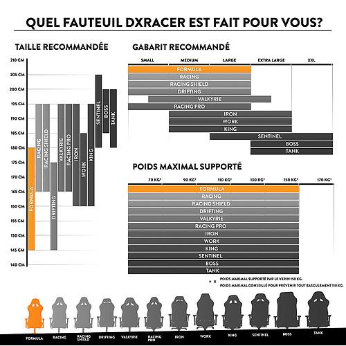 DXRacer Formula F08 (vert) pas cher