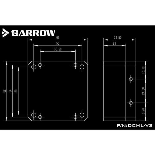 Barrow DCHL-V3 pas cher
