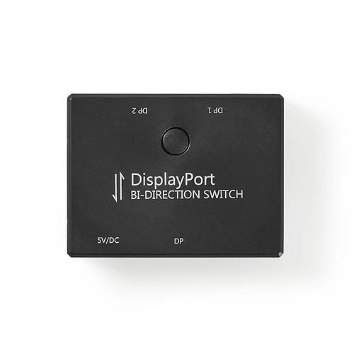 Nedis Switch Displayport 2:1 (femelle/femelle) pas cher