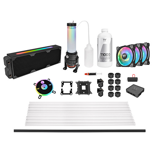 Thermaltake Pacific CL360 Max D5 Kit Watercooling Tube Rigide pas cher