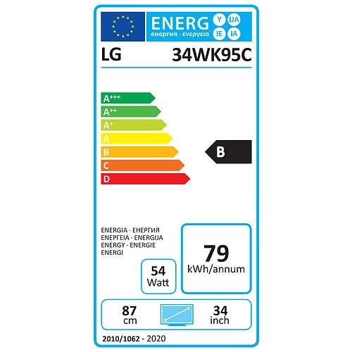 """LG 34"""" LED - 34WK95C-W pas cher"""