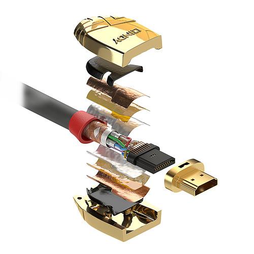 Lindy Gold Line HDMI 4K (0.5 m) pas cher