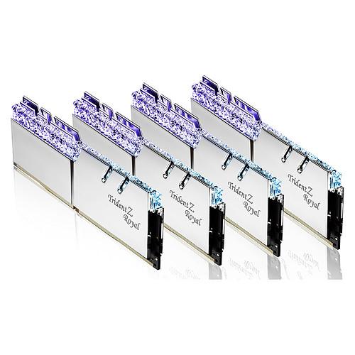 G.Skill Trident Z Royal 256 Go (8 x 32 Go) DDR4 3200 MHz CL16 - Argent pas cher