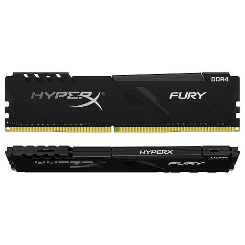 HyperX Fury 16 Go (2x 8 Go) DDR4 3733 MHz CL19 pas cher