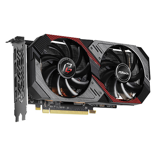 ASRock Radeon RX 5600 XT Phantom Gaming D2 6G OC pas cher