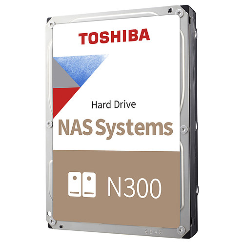 Toshiba N300 8 To (HDWG180EZSTAU) pas cher