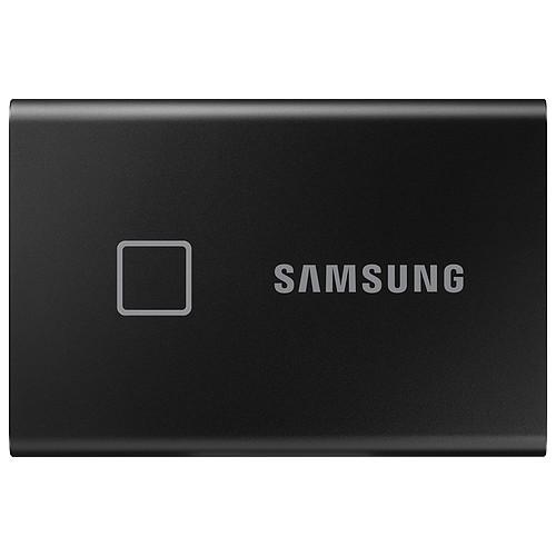 Samsung Portable SSD T7 Touch 500 Go Noir pas cher