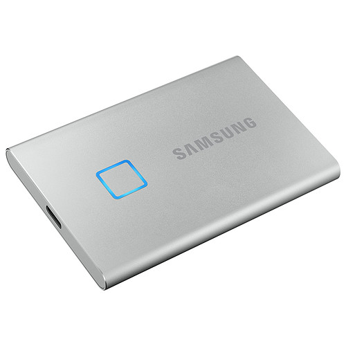 Samsung Portable SSD T7 Touch 2 To Argent pas cher
