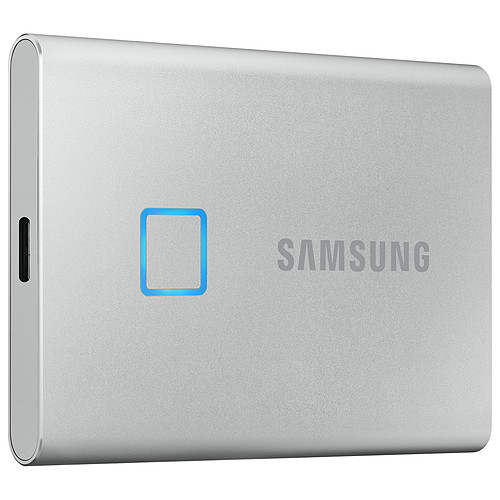 Samsung Portable SSD T7 Touch 1 To Argent pas cher