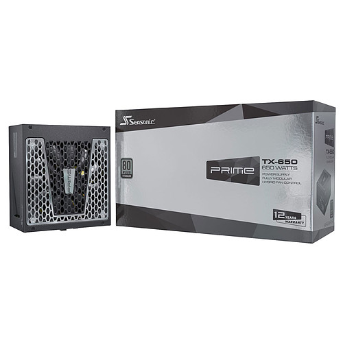 Seasonic PRIME TX-650 pas cher