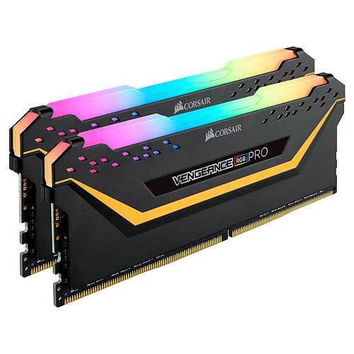 Corsair Vengeance RGB PRO Series 16 Go (2x 8 Go) DDR4 3200 MHz CL16 - TUF Gaming Edition pas cher