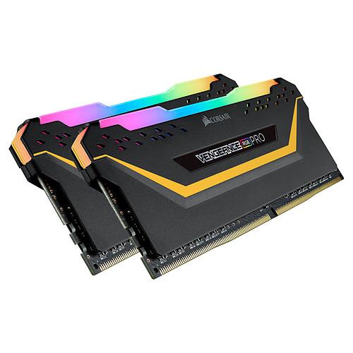 Corsair Vengeance RGB PRO Series 32 Go (2x 16 Go) DDR4 3200 MHz CL16 - TUF Gaming Edition pas cher