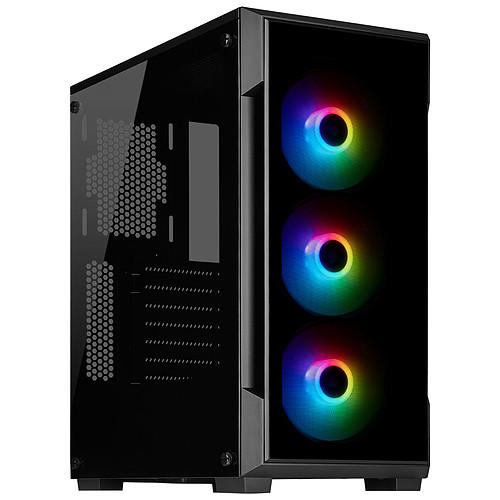 Corsair iCUE 220T RGB Tempered Glass (Noir) pas cher