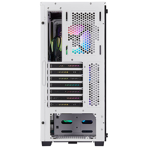 Corsair iCUE 220T RGB Tempered Glass (Blanc) pas cher