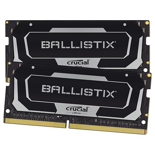 Ballistix SO-DIMM DDR4 16 Go (2 x 8 Go) 2400 MHz CL16 pas cher
