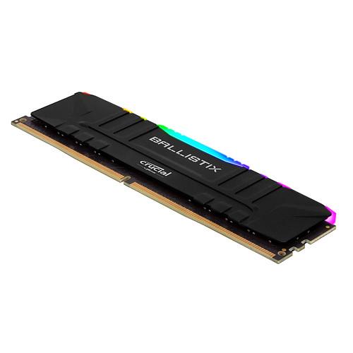 Ballistix Black RGB DDR4 16 Go (2 x 8 Go) 3200 MHz CL16 pas cher